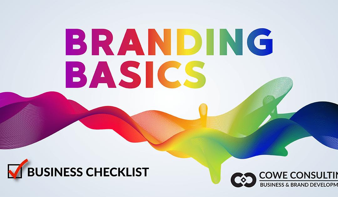 Branding Basics Checklist