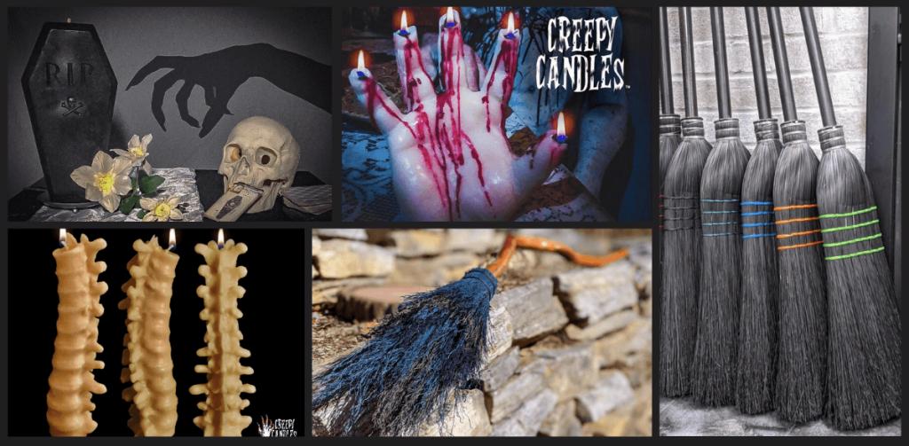 Creepy Candles_Meckley Brooms