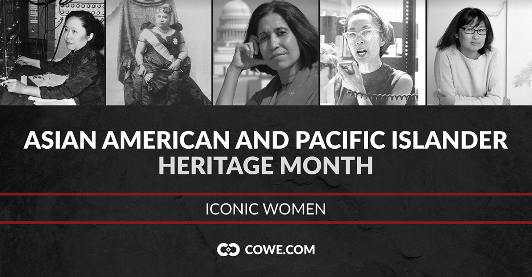 Asian American and Pacific Islander Heritage Month: Iconic Women