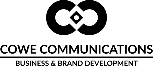 Cowe logo black
