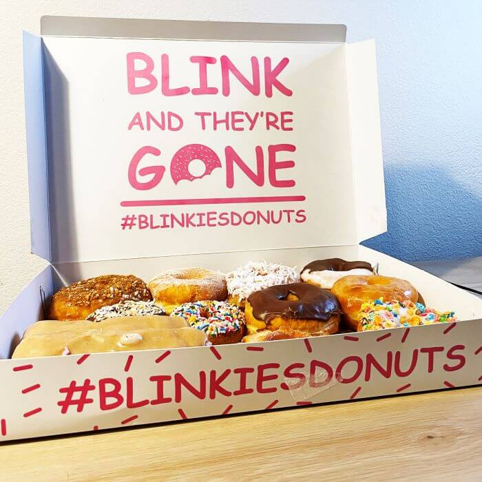 Blinkie's Box open