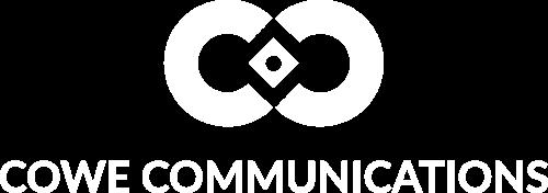 Cowe logo White