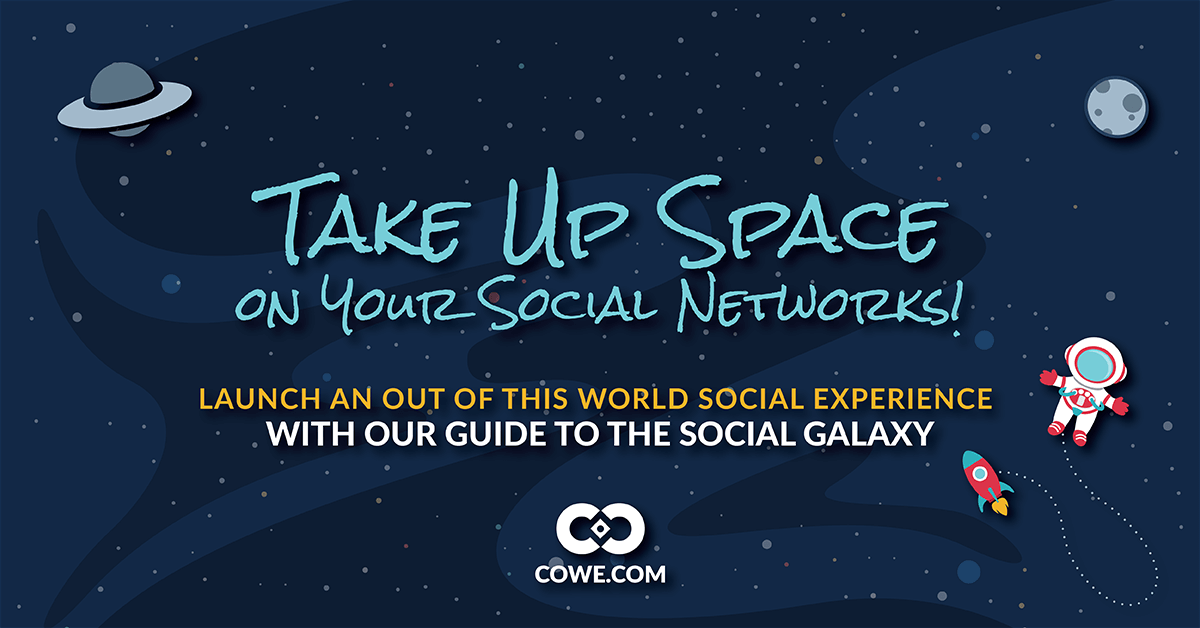 Take Up Space On Your Social Networks